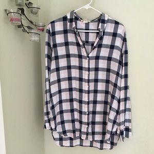 👚Cloth & Stone Anthro ladies button down shirt